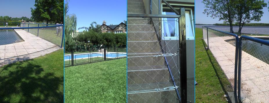 Protecci n para balcones protecci n para ventanas for Cubre escaleras
